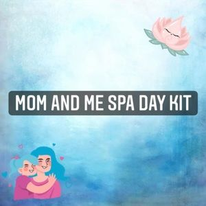 Mom and daughter spa day kit